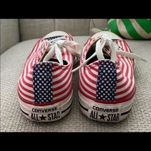 Converse Low Top Chuck - American Flag